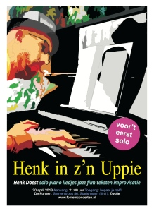 Henk in zn uppie
